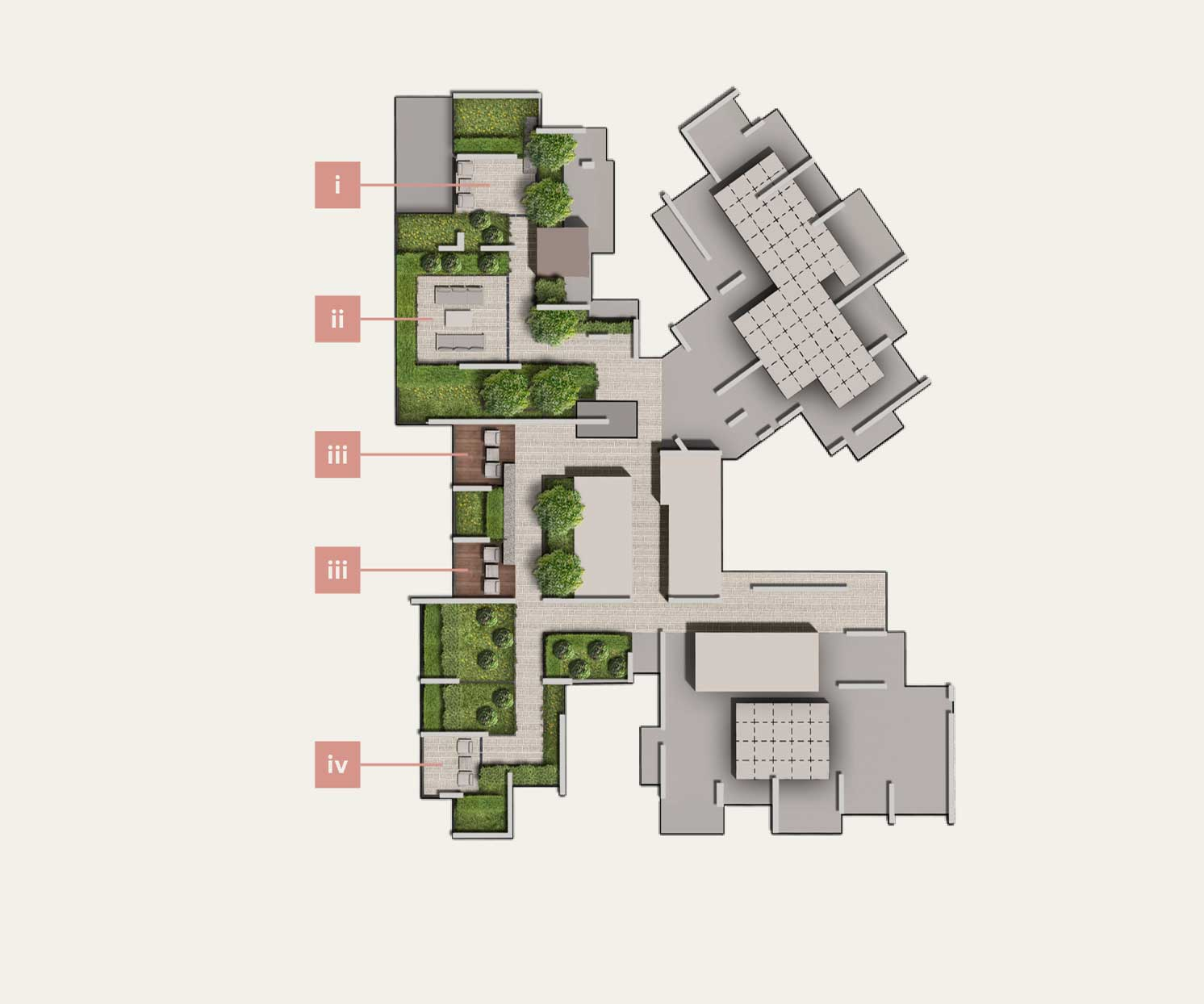 The avenir site plan